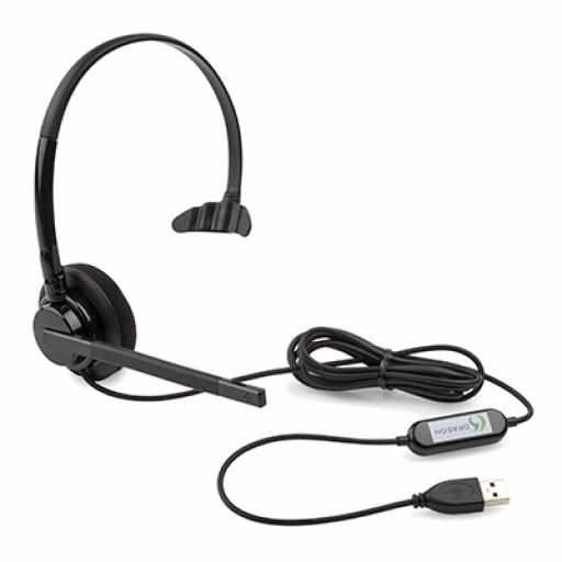 Nuance Dragon Official USB Headset